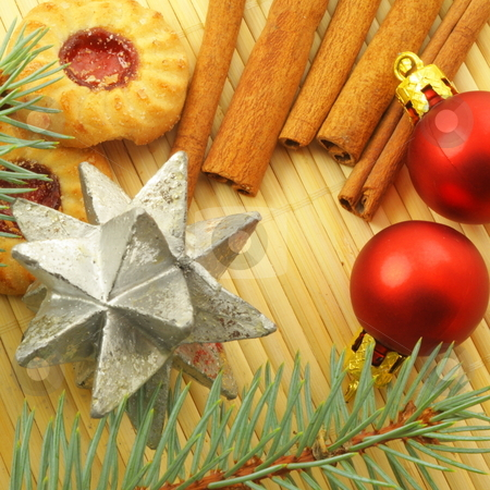 Christmas cookies stock photo, Christmas cookies still life showing xmas concept by Gunnar Pippel