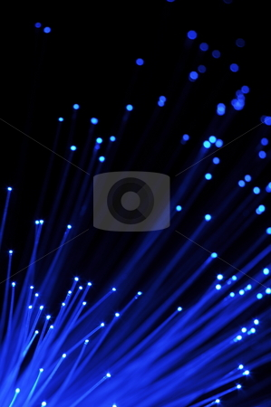 Abstract background stock photo, Abstract information technology background with fiber optics by Gunnar Pippel