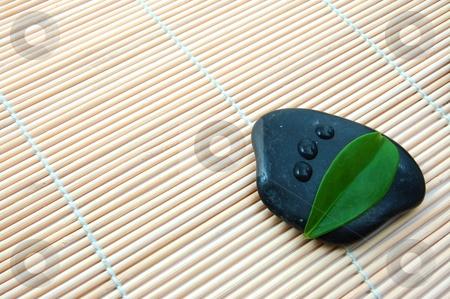 Zen stones  stock photo, Zen stones in bathroom showing a wellness concept by Gunnar Pippel