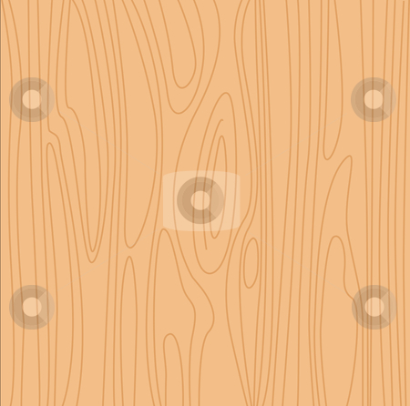 Vector - Natural beige wood background stock vector clipart, Pine wood vector texture by BEEANDGLOW