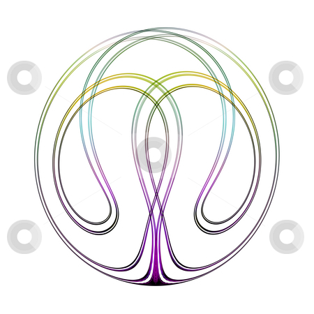 Abstract swirl stock photo, An illustration of a nice colorful swirl by Markus Gann
