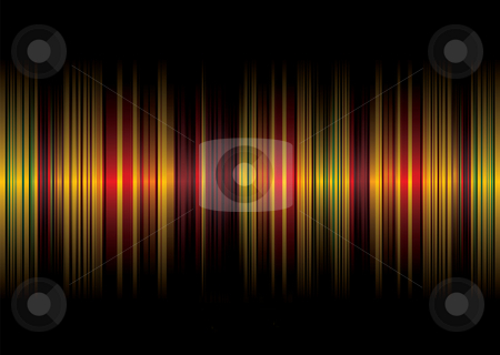 Golden stripe background stock photo, Golden stripe abstract pattern background with room for text by Michael Travers