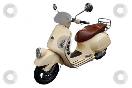 Scooter motorcycle stock photo, Scooter motorcycle by Goce Risteski