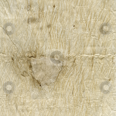 Handmade paper texture stock photo, Handmade paper background with rought texture, wrinkles, wholes, patches and fiber pattern by Marek Uliasz