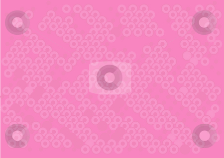 Abstract pink background stock photo, Illustration drawing of beautiful pink circular background by Su Li
