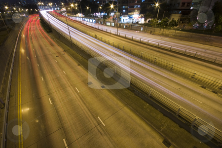 Traffic stock photo, It is a shot of hong kong traffic night by Keng po Leung