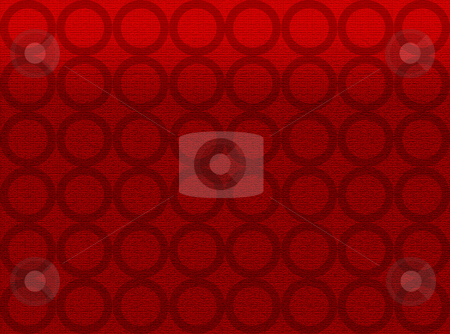 Red carpet texture with round shape stock photo