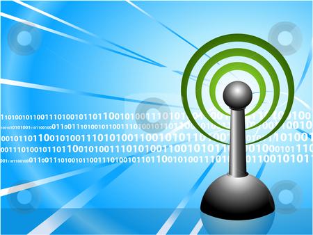 Internet Digital Background stock vector clipart, Internet Digital Background Original Vector Illustration Ideal for internet concepts by L Belomlinsky
