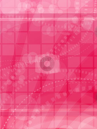 Pink Abstract Background stock vector clipart, Modern shiny background. by Linnea Eriksson