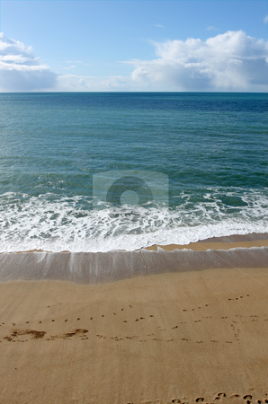 Shoreline on Porthleven beach, Cornwall UK. stock photo, Shoreline on Porthleven beach, Cornwall UK. by Stephen Rees