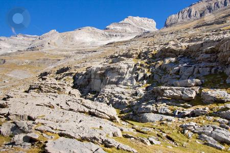 Monte Perdido massif - Ordesa Park. stock photo, Ordesa National Park in Spain view on monte Perdido. by Tomasz Parys