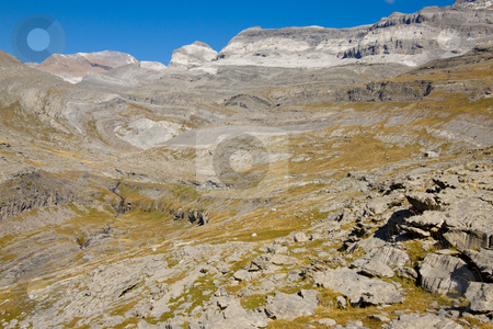 Monte Perdido massif stock photo, View on Monte Perdido Massif. Ordesa National Park in Spain. by Tomasz Parys