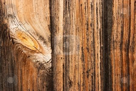 Wood stock photo, Dark wood texture by P?