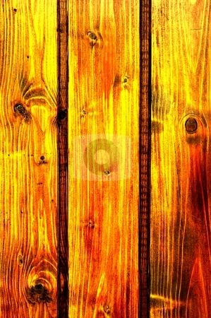 Wood stock photo, Contrasty wood background by P?