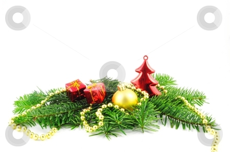 Xmas card stock photo, Xmas or christmas card with white copyspace for text message by Gunnar Pippel