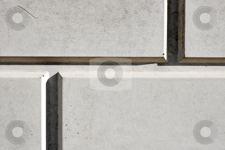 Wall stock photo, Wall closeup with straight lines by P?