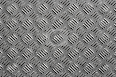Metal stock photo, Grey metal surface with a bumpy pattern by P?