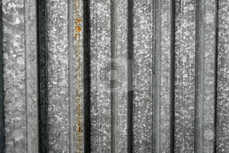 Metal stock photo, Striped metal surface background texture by P?