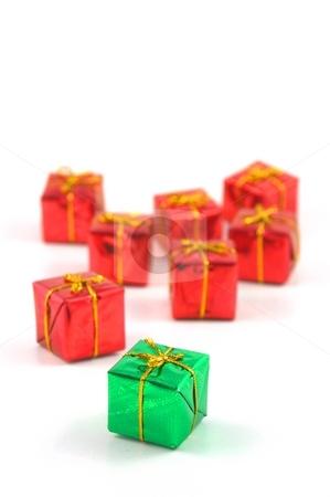 Xmas present stock photo, Xmas holiday present box showing christmas concept by Gunnar Pippel