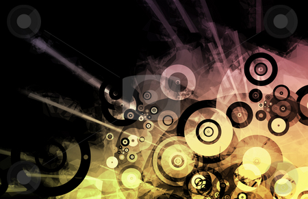 Music Inspired DJ Abstract Background stock photo, Music Inspired DJ as Abstract Colored Background by Kheng Ho Toh