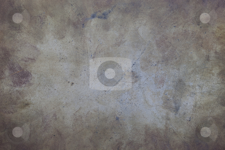 Dirty and scratched metal background stock photo, Grunge background - scratched, stained and dusty metal (steel) sheet by Marek Uliasz