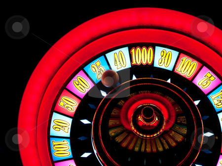 Casino game stock photo, Closeup of a casino slot machine in Las vegas by Laurent Dambies