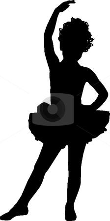 Small Ballerina Stock Vector