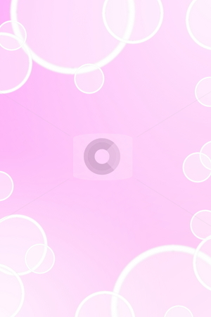 Pink background stock photo, Pink bubble background with copyspace for text message by Gunnar Pippel