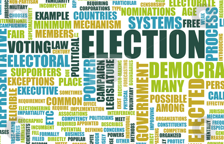 Election stock photo, Election Process Campaign as a Concept Background by Kheng Ho Toh