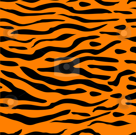 Tiger stripe seamless background stock vector for Tiger without stripes coloring page