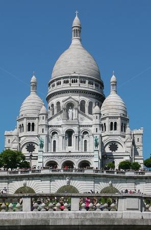 Basilique du Sacre-Coeur stock photo, Basilique du Sacre-Coeur by Tomas Hajek