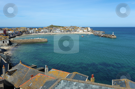 St. Ives harbour in Cornwall UK. stock photo, St. Ives harbour in Cornwall UK. by Stephen Rees