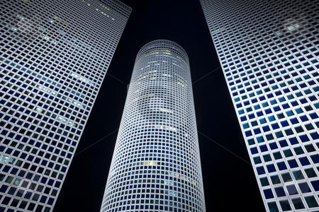Modern office building stock photo, Skyscrapers by Dmitry Pistrov