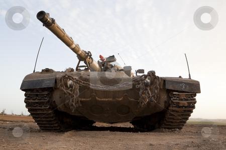 Merkava Mk 4 Baz Main Battle Tank stock photo, Israeli by Dmitry Pistrov