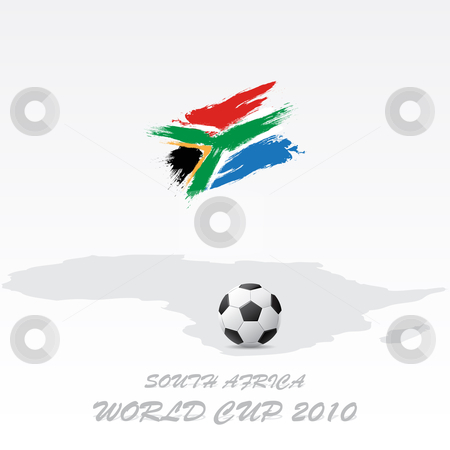 World cup South Africa stock vector clipart, 2010 world cup South Africa symbol by Vladimir Gladcov