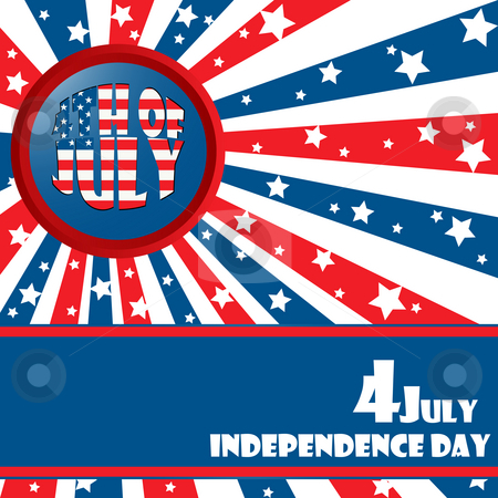 Independece day stock photo, Independece day by Richard Laschon