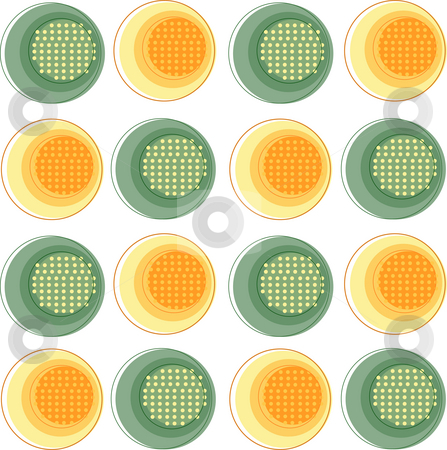 Circle pattern stock photo, A beautiful drawing of circle patterns background by Su Li