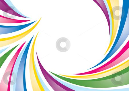 Colorful background stock vector clipart, A colorful vector background with room for your text. by Claudiu Badea