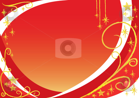Christmas background stock vector clipart, Vector christmas background by Claudiu Badea