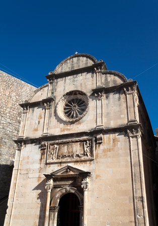 Dubrovnik Church stock photo, A wonderful little old church found in Dubrovnik by Kevin Tietz