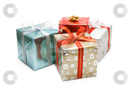 Christmas gifts stock photo, A shot of various christmas gift packages by Suprijono Suharjoto