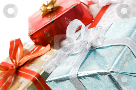 Christmas gifts stock photo, A various packages of christmas gifts by Suprijono Suharjoto