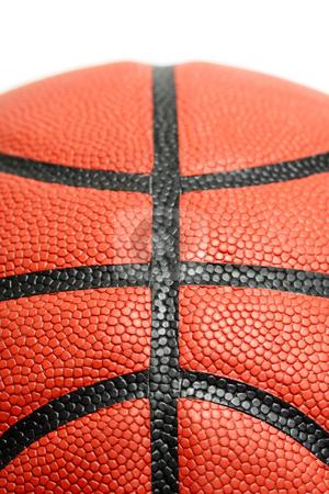Basketball stock photo, A closeup shot of a basketball with copyspace by Suprijono Suharjoto