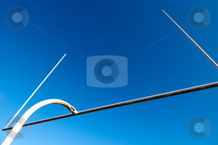 Football goal post stock photo, A shot of american football goal post by Suprijono Suharjoto