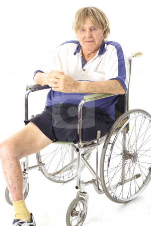 Cool handicap senior stock photo, Cool handicap senior by Andi Berger