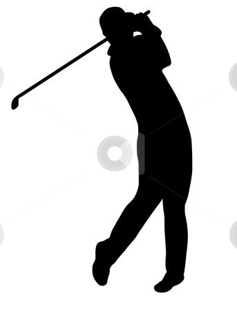 golfer stock vector rh cutcaster com golf vector free golf vector