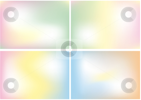 Pastel color mix,  vector background stock vector clipart, Abstract smooth color mix, vector background by Beata Kraus