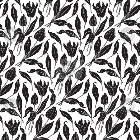Similar Images Seamless Floral Pattern Vector