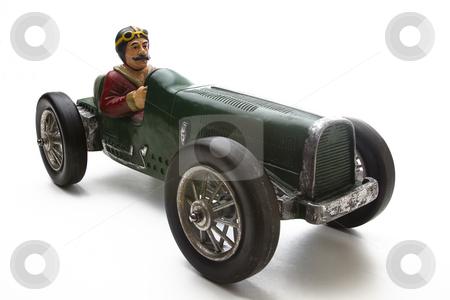 Vintage Race Car Stock Photo