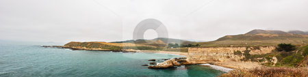Panoramic View of Spooner's Cove, Montana de Oro State Park, Cal stock photo, Panoramic View of Spooner's Cove, Montana de Oro State Park, California by Denis Radovanovic